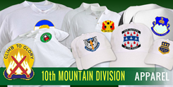 10th Mountain Division Apparel