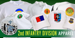 2nd Infantry Division Apparel