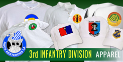 3rd Infantry Division Apparel