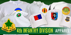 4th Infantry Division Apparel