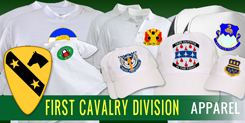 1st Cavalry Division Apparel