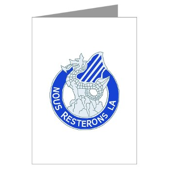 03ID - M01 - 01 - DUI - 3rd Infantry Division Greeting Cards (Pk of 10)