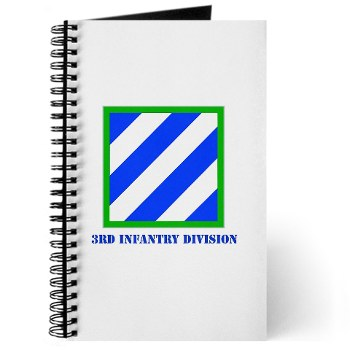 03ID - M01 - 01 - SSI - 3rd Infantry Division with Text Journal