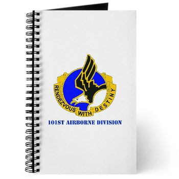 101ABN - M01 - 02 - DUI - 101st Airborne Division with Text Journal