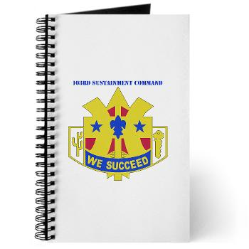 103SC - M01 - 02 - DUI-103rd Sustainment Command - Journal