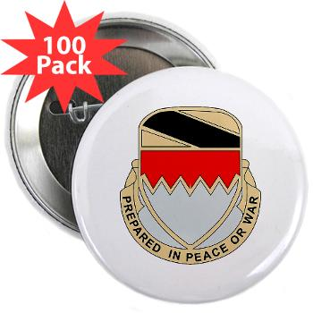 "115BSB - M01 - 01 - DUI - 115th Bde - Support Bn - 2.25"" Button (100 pack)"