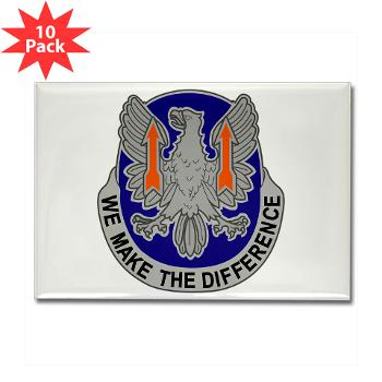 11AC - M01 - 01 - DUI - 11th Aviation Command - Rectangle Magnet (10 pack)