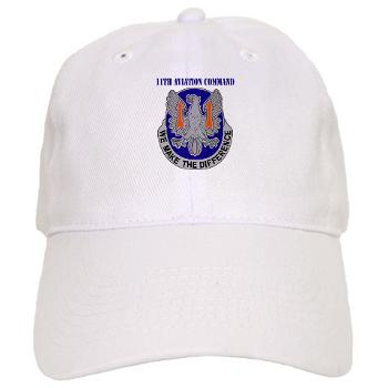 11AC - A01 - 01 - DUI - 11th Aviation Command with text - Cap