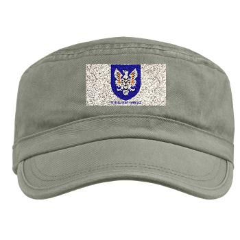 11AC - A01 - 01 - SSI - 11th Aviation Command with text - Military Cap