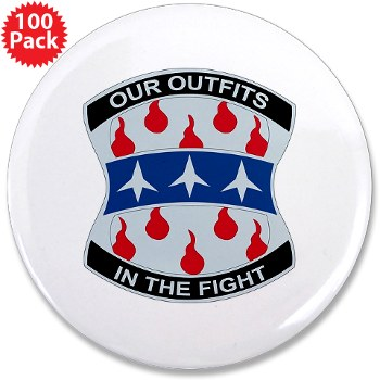 "120IB - M01 - 01 - DUI - 120th Infantry Brigade - 3.5"" Button (100 pack)"