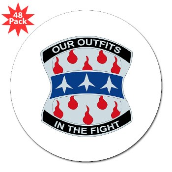 "120IB - M01 - 01 - DUI - 120th Infantry Brigade - 3"" Lapel Sticker (48 pk)"