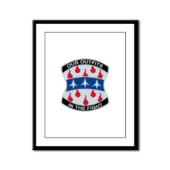 120IB - M01 - 02 - DUI - 120th Infantry Brigade - Framed Panel Print
