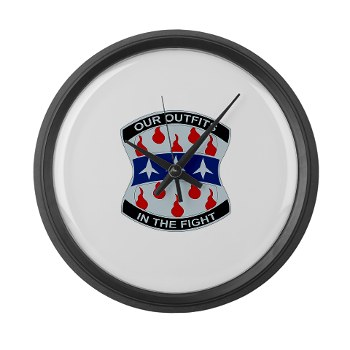 120IB - M01 - 03 - DUI - 120th Infantry Brigade - Large Wall Clock