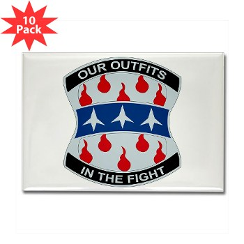 120IB - M01 - 01 - DUI - 120th Infantry Brigade - Rectangle Magnet (10 pack)