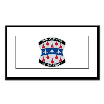 120IB - M01 - 02 - DUI - 120th Infantry Brigade - Small Framed Print