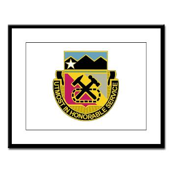 121BSB - A01 - 02 - DUI - 121st Bde - Support Bn - Large Framed Print