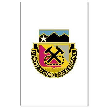 121BSB - A01 - 02 - DUI - 121st Bde - Support Bn - Mini Poster Print