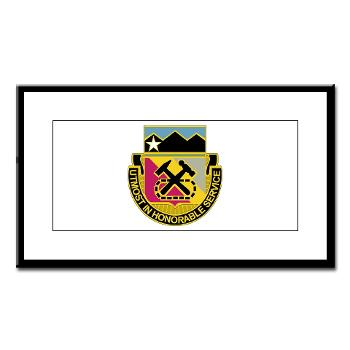121BSB - A01 - 02 - DUI - 121st Bde - Support Bn - Small Framed Print
