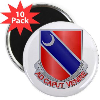 "122EB - M01 - 01 - DUI - 122nd Engineer Bn - 2.25"" Magnet (10 pack)"