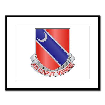 122EB - M01 - 02 - DUI - 122nd Engineer Bn - Large Framed Print