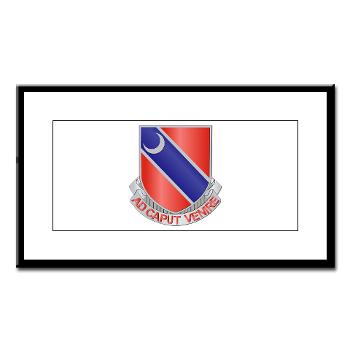 122EB - M01 - 02 - DUI - 122nd Engineer Bn - Small Framed Print