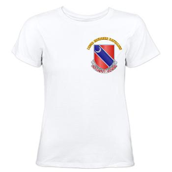122EB - A01 - 04 - DUI - 122nd Engineer Bn with Text - Women's T-Shirt