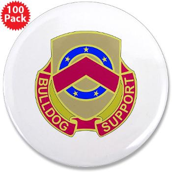 "125BSB - M01 - 01 - DUI - 125th Bde - Support Bn - 3.5"" Button (100 pack)"