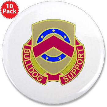 "125BSB - M01 - 01 - DUI - 125th Bde - Support Bn - 3.5"" Button (10 pack)"