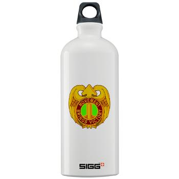143SC - M01 - 03 - DUI - 143rd Sustainment Command - Sigg Water Bottle 1.0L