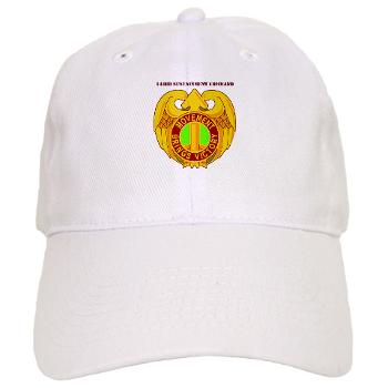 143SC - A01 - 01 - DUI - 143rd Sustainment Command with Text - Cap