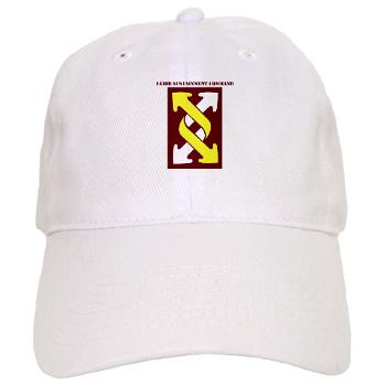 143SC - A01 - 01 - SSI - 143rd Sustainment Command with Text - Cap