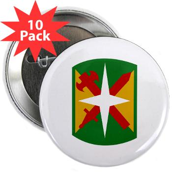 "14MPB - M01 - 01 - SSI - 14th Military Police Bde - 2.25"" Button (10 pack)"