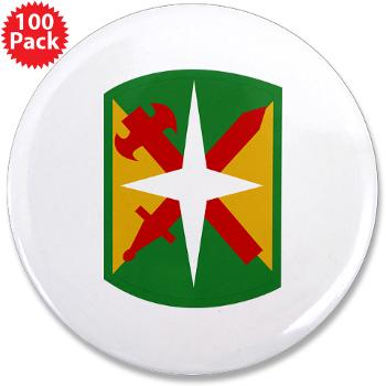 "14MPB - M01 - 01 - SSI - 14th Military Police Bde - 3.5"" Button (10 pack)"