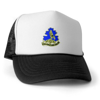 157IB - A01 - 02 - DUI - 157th Infantry Brigade Trucker Hat