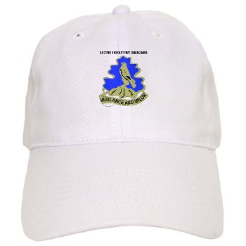 157IB - A01 - 01 - DUI - 157th Infantry Brigade with Text Cap