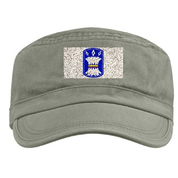 157IB - A01 - 01 - SSI - 157th Infantry Brigade Military Cap