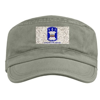 157IB - A01 - 01 - SSI - 157th Infantry Brigade with Text Military Cap