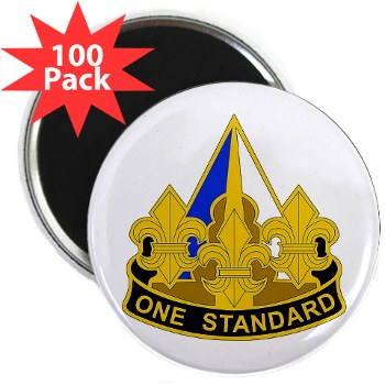 "158IB - M01 - 01 - DUI - 158th Infantry Brigade 2.25"" Magnet (100 pack)"