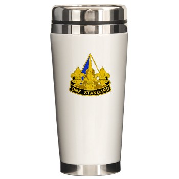 158IB - M01 - 03 - DUI - 158th Infantry Brigade Ceramic Travel Mug