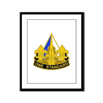 158IB - M01 - 02 - DUI - 158th Infantry Brigade Framed Panel Print