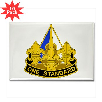 158IB - M01 - 01 - DUI - 158th Infantry Brigade Rectangle Magnet (10 pack)