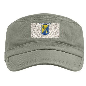 158IB - A01 - 01 - SSI - 158th Infantry Brigade with Text Military Cap