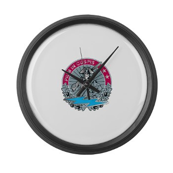 174IB - M01 - 03 - DUI - 174th Infantry Brigade Large Wall Clock