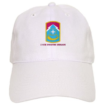 174IB - A01 - 01 - SSI - 174th Infantry Brigade with text Cap