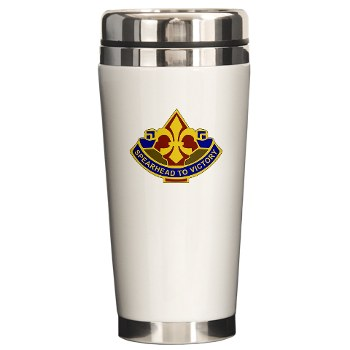 177AB - M01 - 03 - DUI - 177th Armored Brigade Ceramic Travel Mug