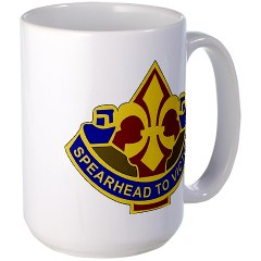 177AB - M01 - 03 - DUI - 177th Armored Brigade Large Mug