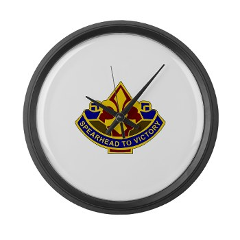 177AB - M01 - 03 - DUI - 177th Armored Brigade Large Wall Clock