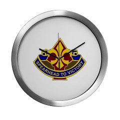 177AB - M01 - 03 - DUI - 177th Armored Brigade Modern Wall Clock