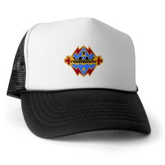 17FB - A01 - 02 - DUI - 17th Fires Brigade Trucker Hat