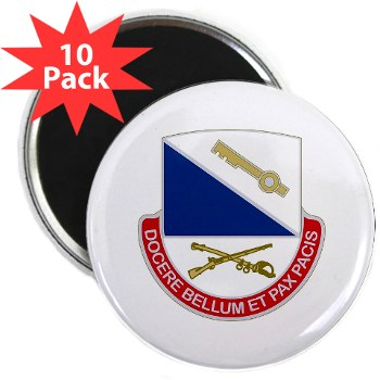 "181IB - M01 - 01 - DUI - 181st Infantry Brigade - 2.25"" Magnet (10 pack)"